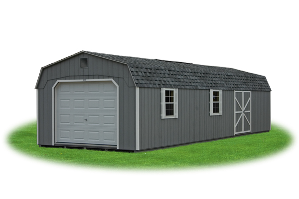 Dutch Barn Prefab Garage Shed For Sale in Stockton MO