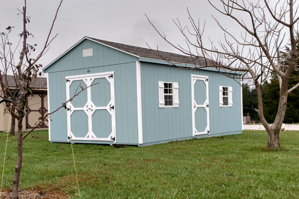 Buy Cottage Backyard Sheds in MO | built by Amish Builders in MO